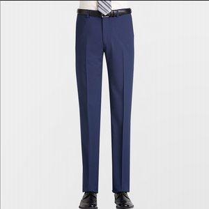 Men's size 30 W 32 L 100% wool Blue Dress Pants